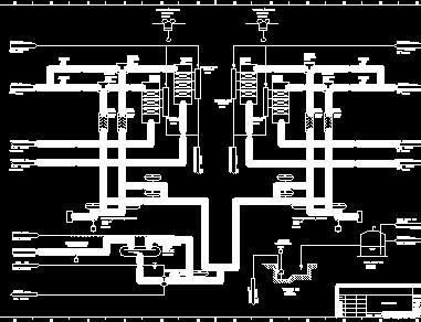 某火电厂烟气脱硝系统流程图(施工图阶段)