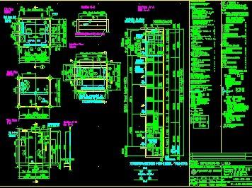 汽配城无机房观光电梯免费下载 - 环保图纸 - 土木工程网