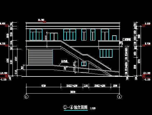 乡镇垃圾压缩站全套施工图纸(含建筑结构水电)