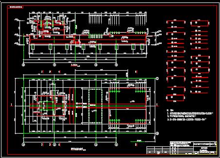 发电厂烟气脱硫工程施工图纸