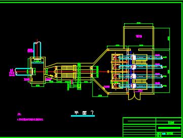 格栅及提升泵房设计图纸