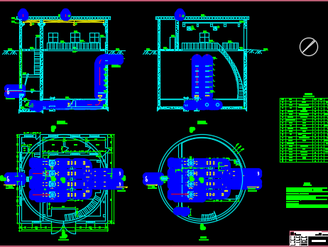 污水处理厂提升泵站设计图纸