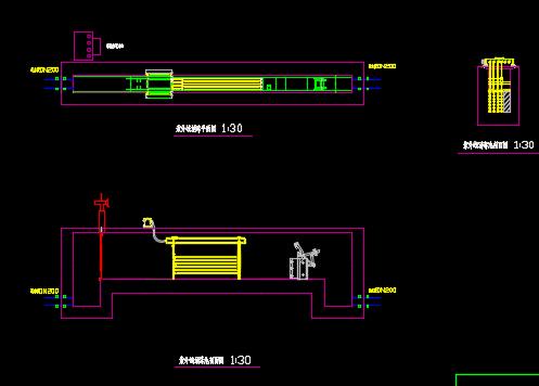 紫外线消毒渠施工图