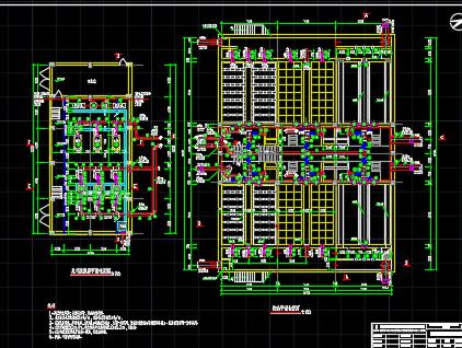 5万吨水厂-V型滤池工艺施工图纸