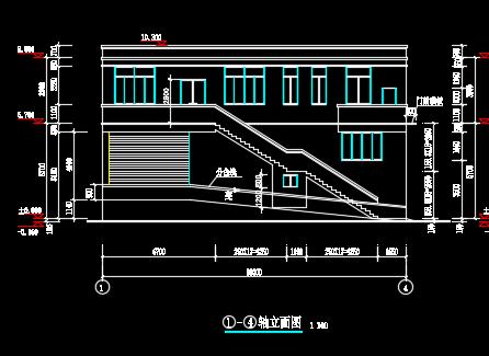 垃圾处理中转站施工图纸(含建筑结构水电)