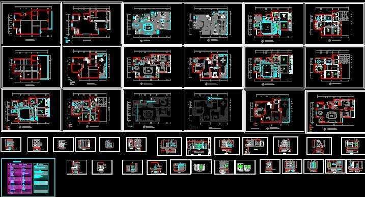 室内装修全套 施工图免费下载 地方图集 土木高清图片