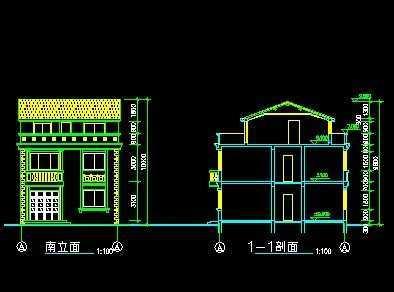 农村别墅设计图免费下载