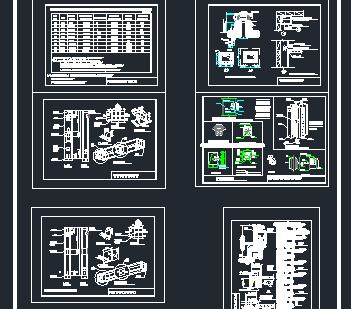 高层住宅厨卫排烟道设计图免费下载 暖通图纸