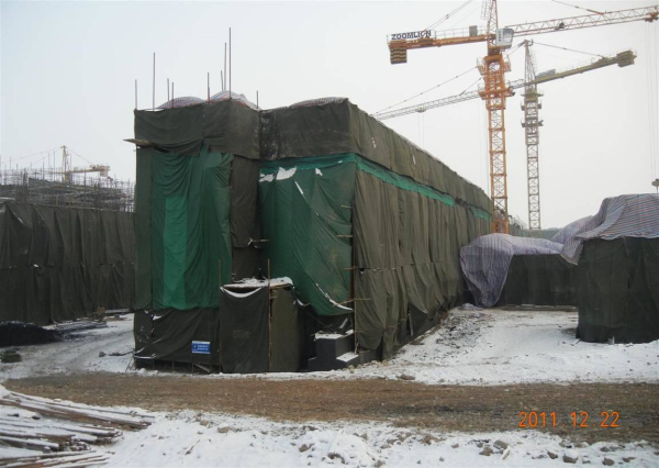 火电厂建设冬季施工方案总结
