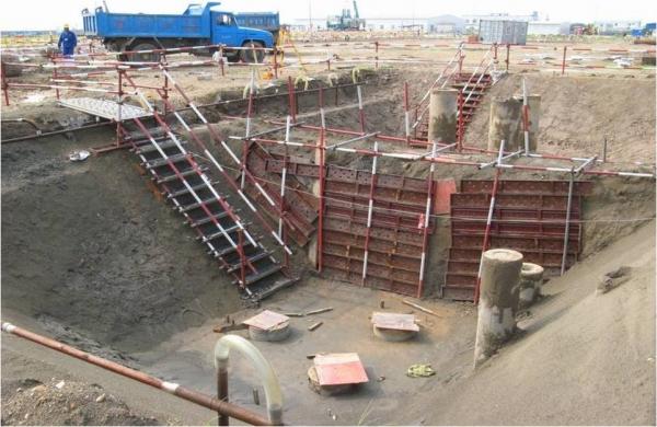 建筑施工场地规范图片