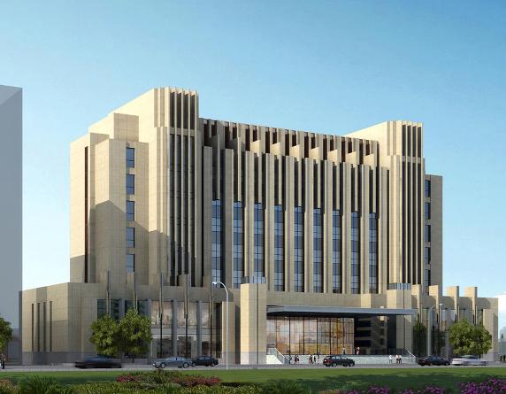 大型办公楼的结构形式多采用钢筋混凝土框架或钢结构,剪力墙,筒体结构