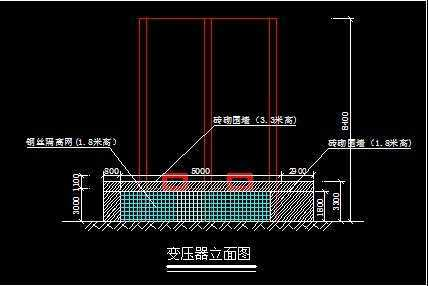 电气田厦新村改造方案变压器电动棚平车免费下项目图纸无锡南山原理防护巨力图片