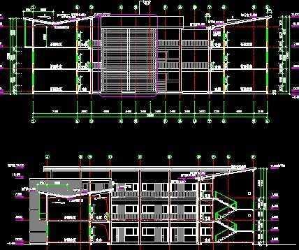 某大学教学楼建筑施工图