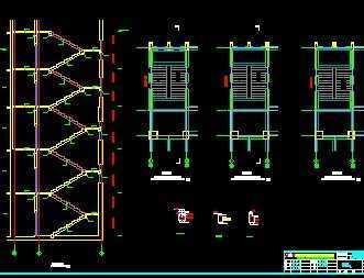 楼梯施工图免费下载