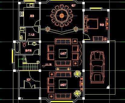 别墅平面图免费下载