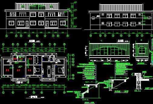 农村房屋设计图免费下载