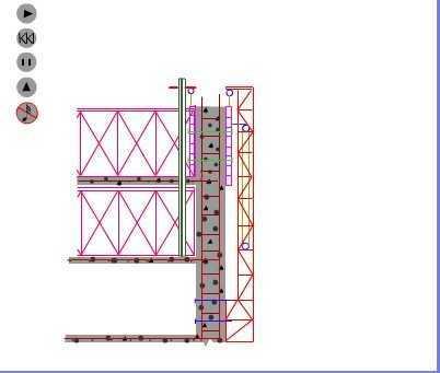 液压爬模施工动画方案图片