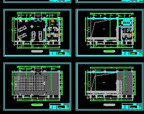 汽车展厅建筑装修设计图纸免费下载 建筑装修图高清图片