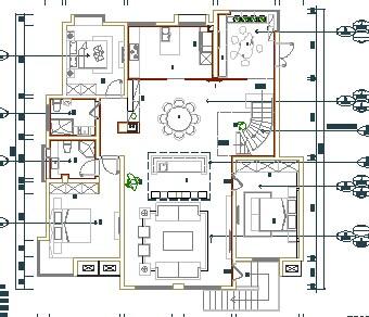 别墅装修设计图免费下载