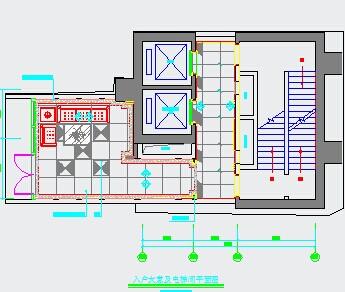 大堂电梯间装修设计图