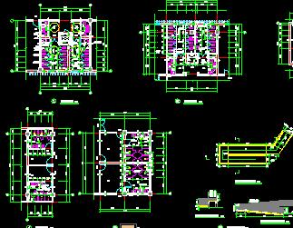 无障碍卫生间死机详图免费下载-建筑详图、图cad2010设计图片