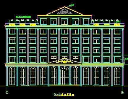 高层商店住宅楼毕业设计