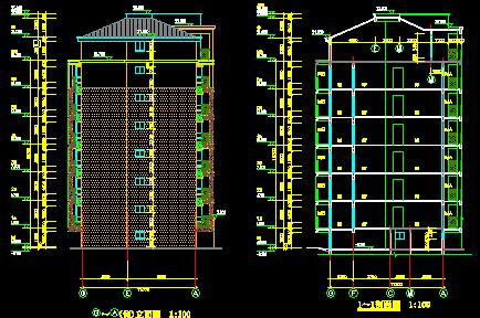 七层框架结构住宅楼工程毕业设计