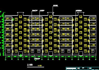 7层住宅楼毕业设计(含计算书,图纸)