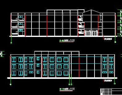 某3层教学楼毕业设计(含计算书,图纸)
