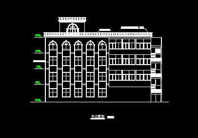 五层教堂毕业设计(图纸)