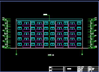 五层框架住宅楼毕业设计(含计算书PDF、图纸)