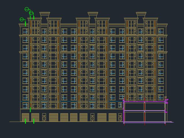 十一层框剪结构住宅楼建筑工程毕业设计