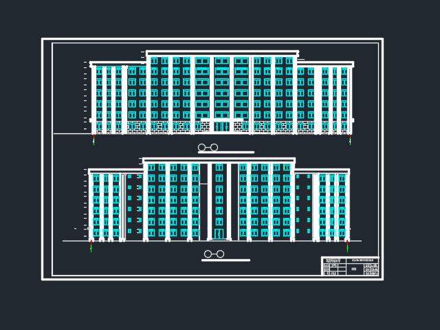 8500㎡七层框架结构办公楼毕业设计