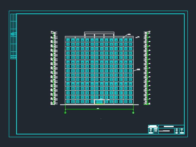 11155平米十五层框剪住宅楼毕业设计