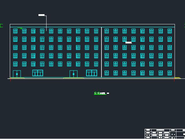 6065.28平米六层框架结构旅馆毕业设计