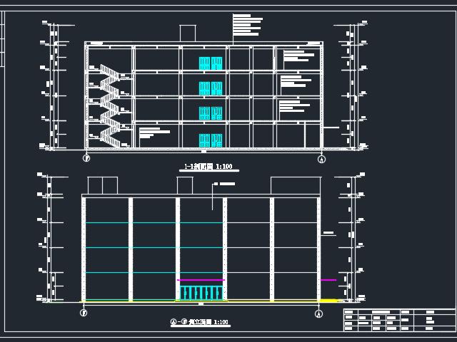 四层框架结构商厦毕业设计