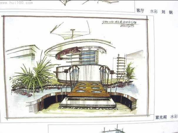 2004室内手绘图大赛全集免费下载