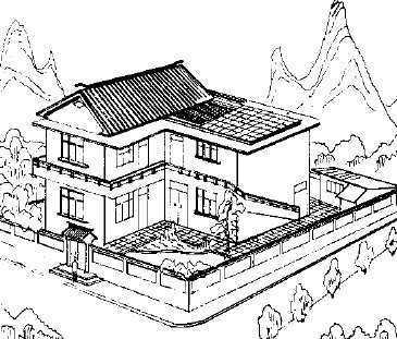 城乡住宅优秀设计图集锦免费下载 建筑书籍
