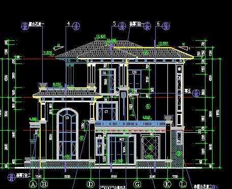 别墅施工图