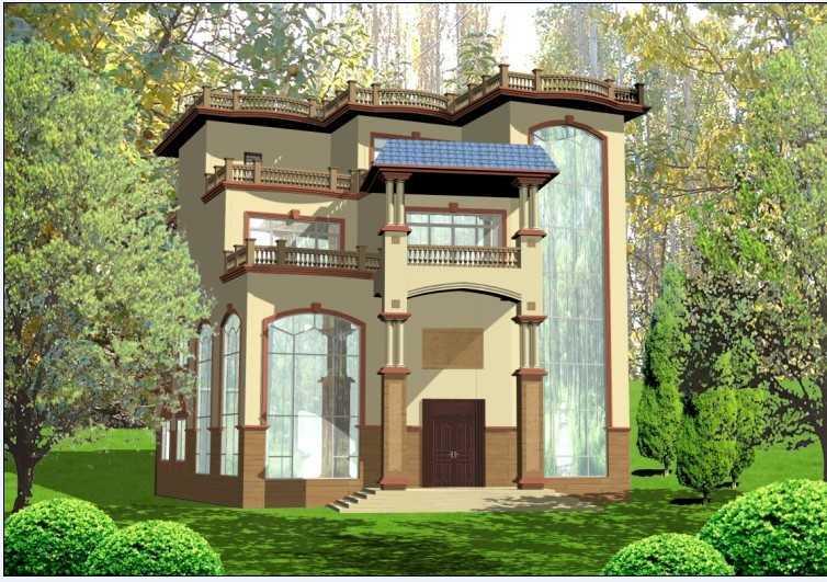 图纸建筑设计效果图免费下载吗3机械维一样跟别墅图纸图片