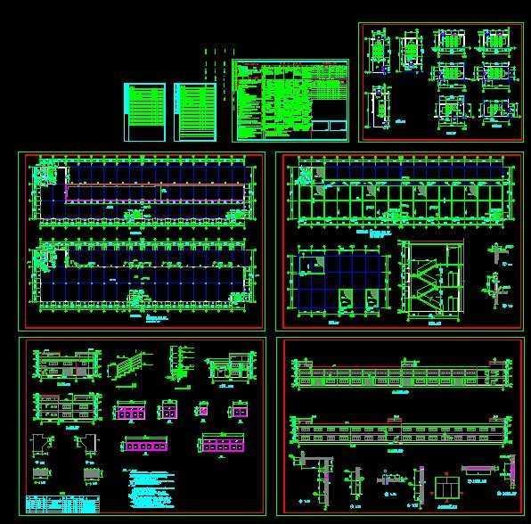 某剖面办公楼免费下载-符号方向-土木工程网厂房图纸怎么中确定别墅图纸?图片