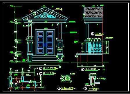 小别墅建筑设计图纸