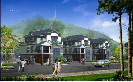 三层别墅平面图设计带效果图