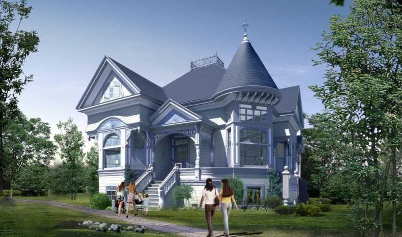 小别墅建筑方案设计