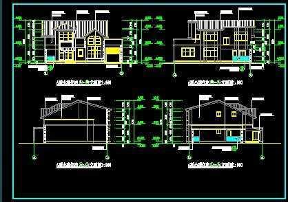 a型别墅设计图纸免费下载