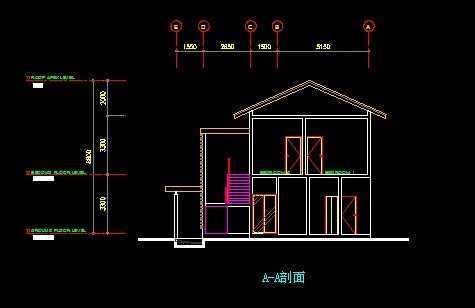 两层别墅平面图免费下载
