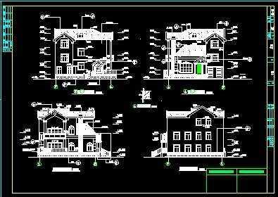 别墅水电施工图