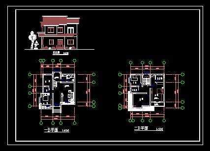 b型别墅平面设计图