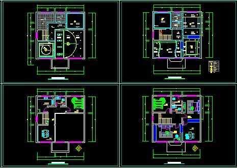 华丽型别墅私人平面设计图家装设计组装电脑配置推荐图片