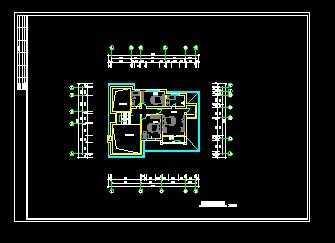 二层别墅平面设计图
